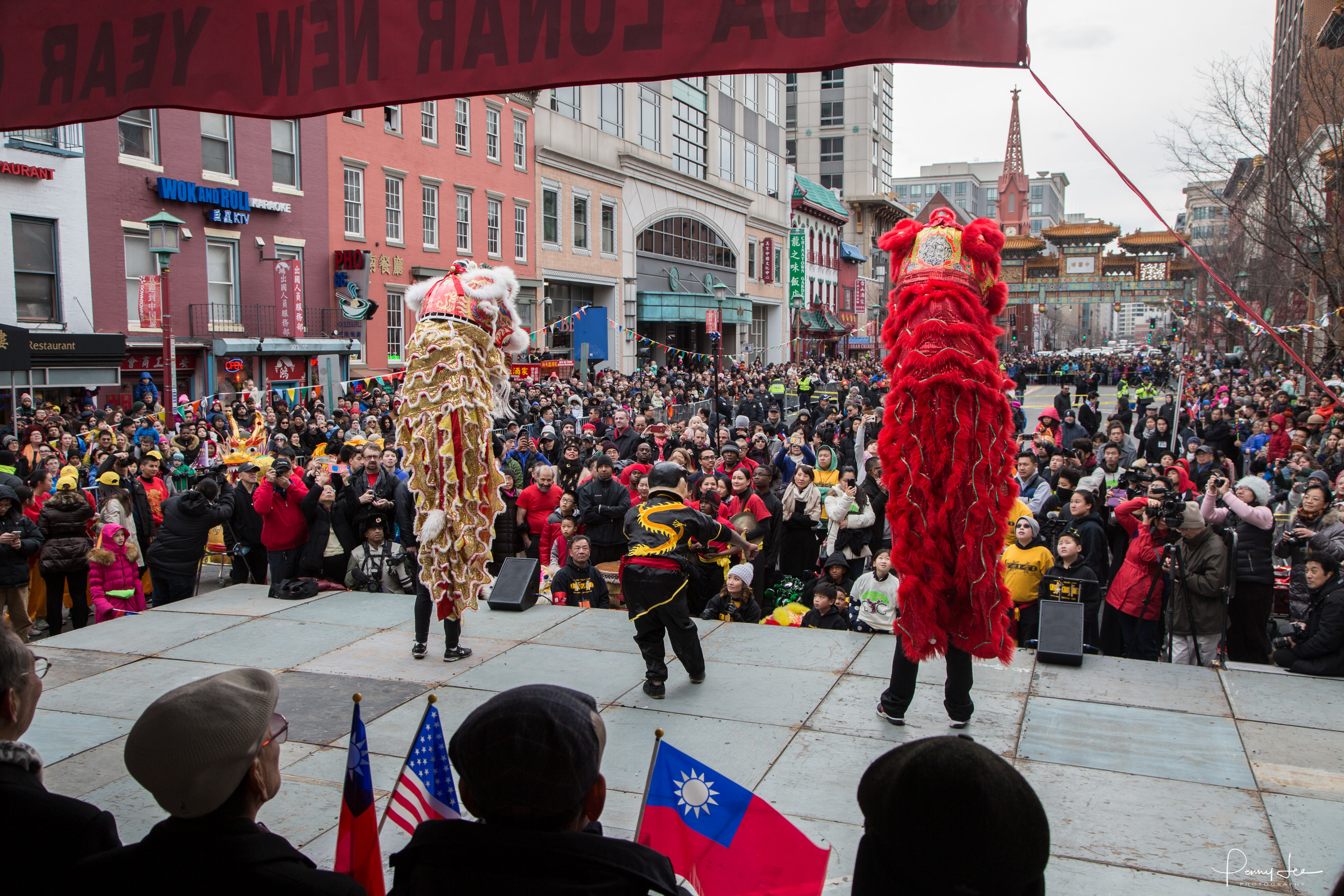 2019 Dc Chinese New Year Parade In Chinatown Washington Dc